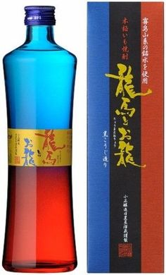 Japanese Shochu 芋焼酎 So pretty #bottle and box #packaging PD