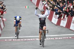 Fabian Cancellara takes his third career Strade Bianche title, getting the better of defending champion Zdenek Stybar on the final climb