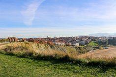 Vista de Getxo desde los acantilados