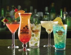 Hard Rock beverages. Imbibe! #hardrock