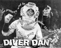 "My friend Neil's mother was the mermaid on Diver Dan. She also sang the theme song to ""Flipper"""