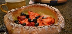 Whoa Baby! Fruit-Filled Dutch Baby for Breakfast