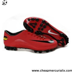 95d76019cd2 Buy Discount Nike - Jnr Mercurial Victory III AG Red Black Football Shoes  Store Cheap Soccer
