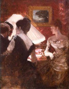 Around the Shade - Giuseppe de Nittis (1846-1884)
