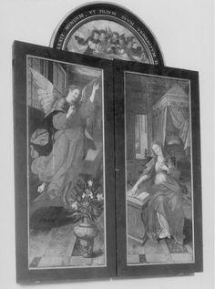 Visitation, Adoration des Mages, des Bergers, Annonciation | Tournai[localité], Cathédrale Notre-Dame de Tournai | De Vos, Maarten (artiste-peintre), Date: 1551 - 1600