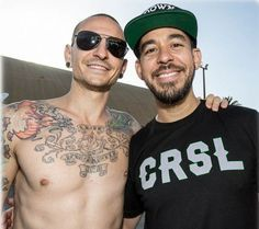 Linkin park - Chester Bennington and Mike Shinoda