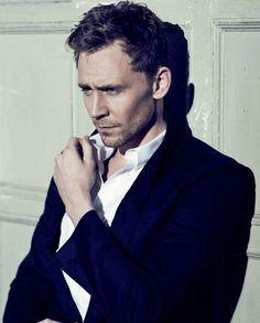 tom hiddleston. That smolder tho.