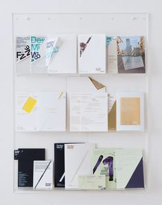 Multiple brochure designs to choose from.