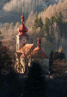 kostel Bečov
