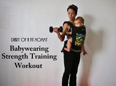 15 Minute Babywearing Workout