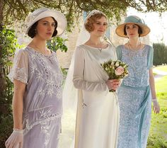 Cloche hats and flapper dresses: get inspired by Downton Abbey's fashion worn by Lady Mary Crawley, Lady Edith, Lady Sybil Branson and Lady Rose MacClare.