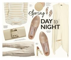 """""""Spring Day to Night"""" by katarina-blagojevic ❤ liked on Polyvore featuring Isabel Marant, Karen Millen, WithChic, Miu Miu, Perrin, BaubleBar, Eve Lom, Dolce&Gabbana and Rocio"""