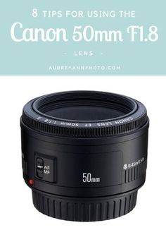Today I'm going to share some tips for using the Canon 50mm F1.8 lens. I know that many of you will have this lens, because it's probably the one that most people go for when upgrading from their kit lens. When I first got this lens a few years ago, I would hear about the quality of it for the price and how tack-sharp my images were going to be, but they weren't, in fact every single one looked downright soft! So the lens got shoved back into my camera bag and forgotten about. But not ...