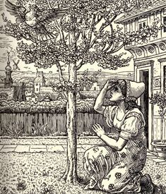 """""""The Juniper Tree"""" is a Brothers-Grimm tale about a boy whose stepmother cooked him and fed him to his father.  Through magic, however, the boy becomes a bird, and, by the end of the tale a boy again."""