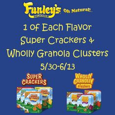 Funley's Delicious Snacks Giveaway {ends 6/13} | Dorky's Deals