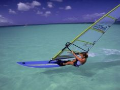 aruba windsurfing. Ryan would LOVE to do this! #aioutlet