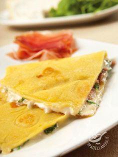 Se volete ottenere delle Crepes con speck, gorgonzola e rucola più leggere, invece del mascarpone potete farcirle con la stessa quantità di ricotta salata!