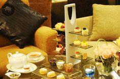 #High #Tea #Stand High tea presentation with designs created by Glass Studio for Four Seasons, Riyadh!