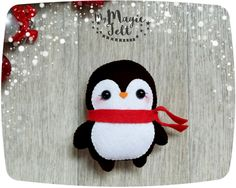 Christmas ornaments Penguin cute Christmas ornaments felt Penguin ornament…