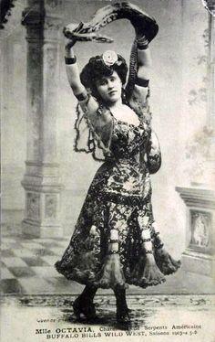 Mlle Octavia - Snake charmer.