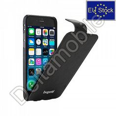BUGATTI Geneva High Quality FlipCase for Apple Iphone 6 Black from EU Stock | eBay