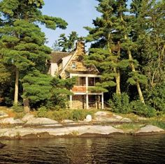 Exterior in Ontario, Canada lovely setting