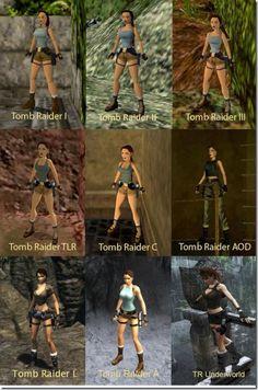 Tomb raider through the years