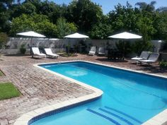 """""""The swimming pool at Camdeboo Cottages in Graaff-Reinet really looks inviting, especially with 38 degrees Karoo heat"""" Kruger National Park, National Parks, Game Lodge, Private Games, My Land, Hotels And Resorts, Lodges, Cottages, South Africa"""