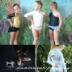 Lil luxe collection Dancewear Tester round up pdf pattern for girls sizes Girls Sizes, Couture Details, Athletic Wear, Pdf Sewing Patterns, Dance Wear, How To Wear, Collection, Dancing Outfit, Sports Costumes