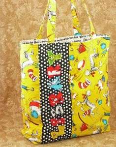 love this dr. suess bag!