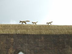thatched roof with corn dolly - Google Search