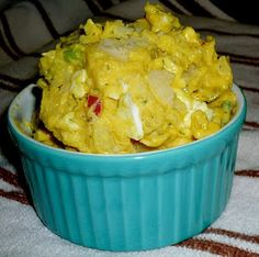 Bright and Sunny Potato Salad...  Tyler Florence...