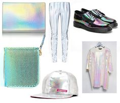 Holographic, Metallic, My Style, How To Wear, Clothes, Fashion, Outfit, Moda, Clothing