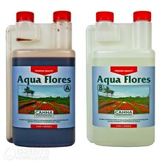 CANNA Aqua Flores:  Formulated to provide a stable pH, Canna Aqua is specifically designed to work in re-circulating hydroponic systems such as NFT tanks and flood and drain set-ups.