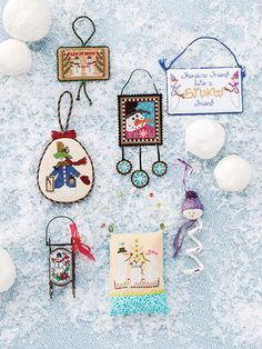 Just CrossStitch Christmas Ornaments 2015 SPECIAL ISSUE: This popular, much-anticipated holiday issue gives you a whopping 75 cross-stitch ornament patterns! You'll get a range of fabulous holiday...