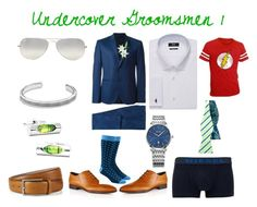 """""""Undercover Groomsmen 1"""" by zigzag433 on Polyvore featuring Diesel, Ray-Ban, Laura Cole, David Yurman, women's clothing, women's fashion, women, female, woman and misses"""