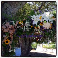 Wedding arch piece