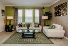Contemporary Living Room with FLOORS 2000 6-Pack Tiburstone Beige Glazed Porcelain Indoor/Outdoor Floor Tile, Carpet