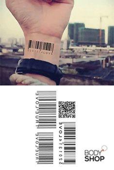 barcode tattoo | Sayings | Barcode tattoo, Tattoo designs ...