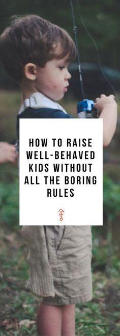 parenting tips, parenting hacks, rules for kids, household rules for kids, well behaved kids, well behaved kids parenting tips
