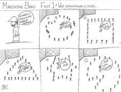 Marching Band Problems this is so stinkin accurate. It's the first thing my section leader told me when I started marching band! Marching Band Problems, Marching Band Memes, Flute Problems, Nerd Problems, Music Jokes, Music Humor, Band Tumblr, Band Jokes, Band Nerd