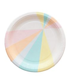 Prism Party Plates – Oh Happy Day Shop