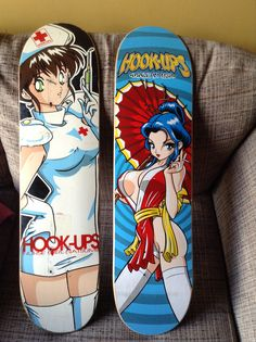 Couple Hook Ups decks, liked their designs since I was like 12. Wonder why lol