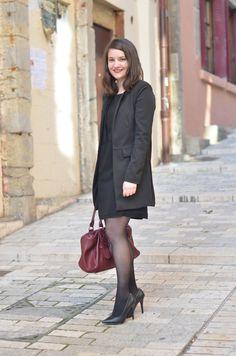 La tenue chic pour un entretien proposée par Alice Nouveau Look, Alice, Clothes, Style, Fashion, Little Black Dresses, Classic Black Dress, Peep Toe Pumps, Fashion Ideas