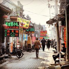 Beijing bustle. Photo courtesy of alan02134 on Instagram.