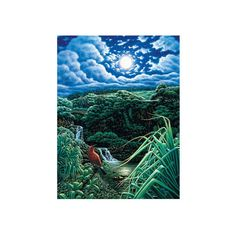 Full Moon over Seven Sacred Pools, Hana, Maui, Hawaii Giclee Print... (23 KWD) ❤ liked on Polyvore featuring home, home decor, wall art, celebrities by name, entertainment, people, s, giclee wall art and giclee poster