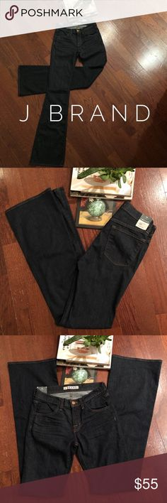 NEW |• J BRAND LEXINGTON Jeans Size: 25 • Inseam: • Style: 80's-Rise, Boot Leg, Dark Indigo Color• Brand New With Tags• get them for way less at Poshmark • J Brand Jeans Flare & Wide Leg