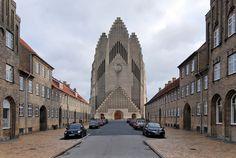 archiweb.cz - Grundtvigův kostel Christian Church, Sick, America, Explore, Architecture, Building, Travel, Healthy, Photos