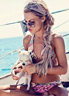 Gooi je haar in een vlecht! Zomerse vlechten die perfect zijn voor zomerse dagen!