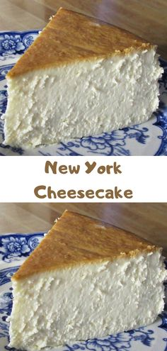 New York Cheesecake - Cheese Recipes Sweets Recipes, No Bake Desserts, Just Desserts, Baking Recipes, Cake Recipes, Eat Dessert First, Let Them Eat Cake, Cupcake Cakes, Sweet Treats